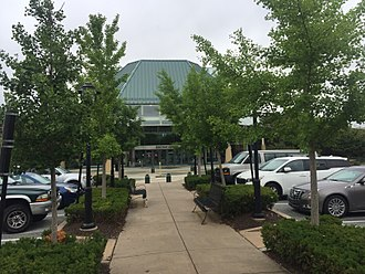 Exton Square Mall - Entrance to the food court