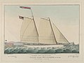 Extraordinary Express Across the Atlantic – Pilot Boat William J. Romer, Captain McGuire, Leaving for England February 9th, 1846 MET DP853636.jpg
