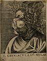 F. Gruniacula, a character with a grotesque face. Line engra Wellcome V0007461.jpg