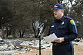 FEMA - 33512 - Baer Public Information officer at the microphone in California.jpg