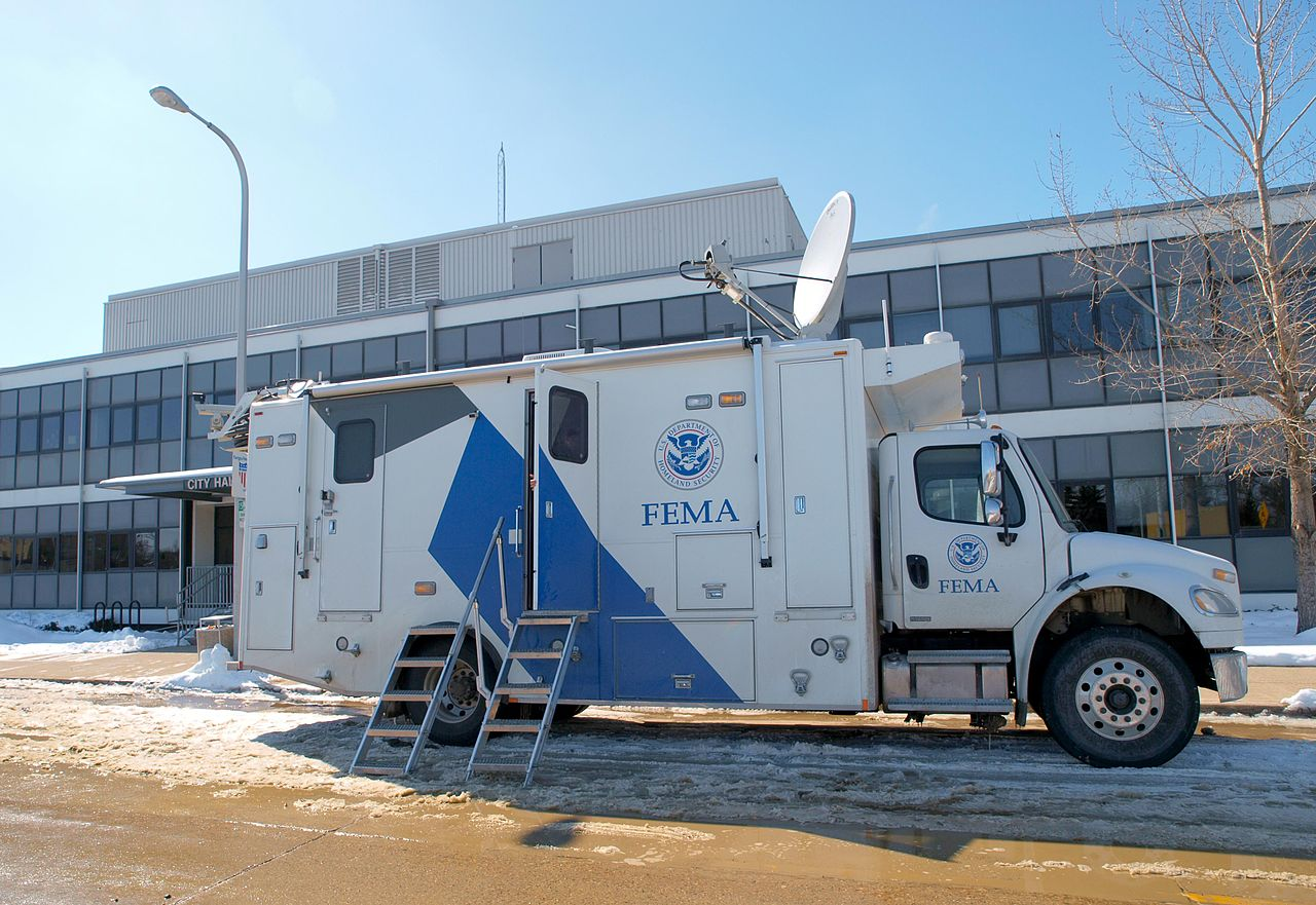 File Fema 40358 Fema Mers Truck In Fargo North Dakota