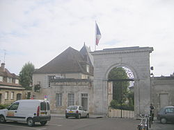 Prefecture building of the Yonne department, in Auxerre