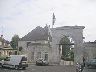 Yonne - Prefecture building of the Yonne department, in Auxerre