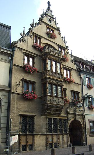 Bay window - Image: FR Colmar 20080828 026