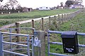 Faerie-Tale Farm and gates at Rouncil Lane - geograph.org.uk - 1589414.jpg