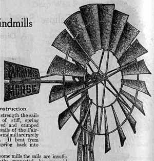 Fairbanks-Morse - Fairbanks-Morse windmill