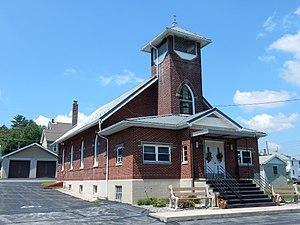 Landingville, Pennsylvania - Landingville. Faith United Church of Christ.