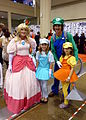 Fan Expo 2014 - Mario group (14951201179).jpg