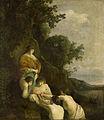 Farao's dochter vindt Mozes in het biezen mandje Rijksmuseum SK-A-852.jpeg