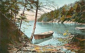Boothbay, Maine - Farnham's Cove in 1907