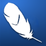 Feather on blue tile.png