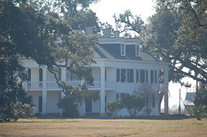 Felicity Plantation - The plantation house in 2010