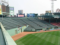 Fenway Park center field, Boston
