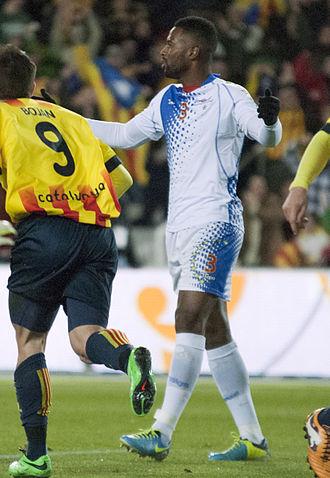 Fernando Varela (Cape Verdean footballer) - Varela with Cape Verde in December 2013