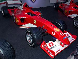 2002 FIA Formula One World Championship - Scuderia Ferrari won the Constructors' Championship.
