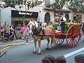 Festa Major de Gràcia 2011 - colles de Sant Medir - XIII cercavila de cultura popular - carrer Gran P1330056.jpg