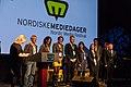 Festivalsjef Heftye presenterer programkomiteen - Opening - NMD 2013 (8721267114).jpg