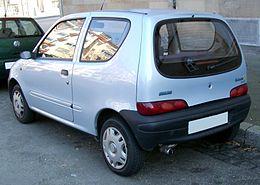 Schema Elettrico Fiat Seicento : Fiat seicento wikipedia