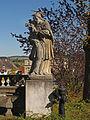 Figurenbildstock Johannes Nepomuk bei der Dreifaltigkeitssäule in Waidhofen an der Thaya.jpg