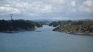 Karmøy - View of the Låvesundet