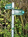 Fingerpost Cleveley Oxfordshire - geograph.org.uk - 231079.jpg