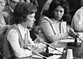 First Lady Rosalynn Carter at the President's Commission on Mental Health, Chicago, Illinois.jpg