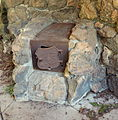Fish Lake Shelter west stove - Rogue River NF Oregon.jpg