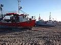 Fiskekuttere på Torup Strand (2005-10-19).jpg
