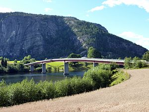 Telemark Canal - Fjågesund Bridge over the Telemark Canal