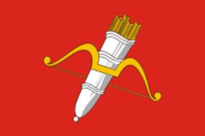Achinsk - Image: Flag of Achinsk (Krasnoyarsk krai)