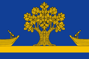 Dubovsky District, Volgograd Oblast - Image: Flag of Dubovsky district 2007