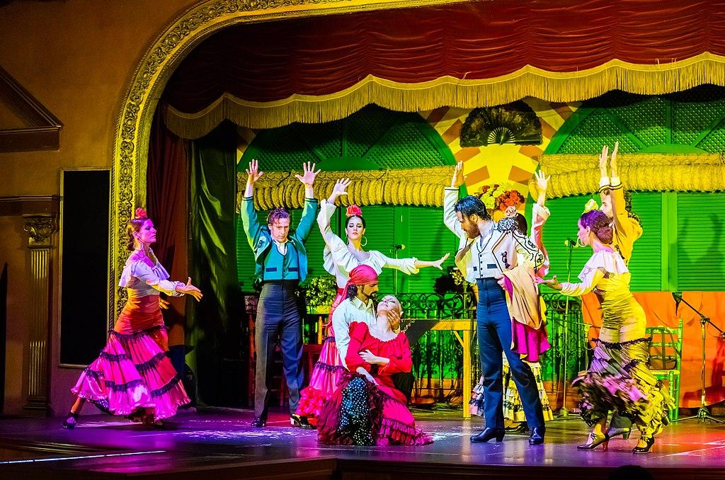 Où sortir à Séville : Spectacle de flamenco au Palacio Andaluz - Photo de Diego Delso, delso.photo, License CC-BY-SA