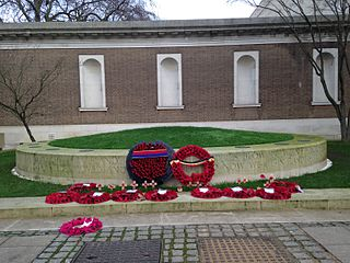 Flanders Fields Memorial Garden memorial garden in London