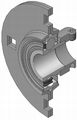 Flanged-housing-unit din626-t3 type-rb-yen 180.png