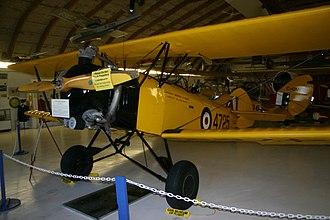 Fleet Finch - Fleet Finch II at the Canadian Museum of Flight British Columbia