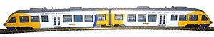 Fleischmann (model railroads) - LINT train