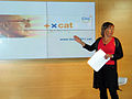 Flickr - Convergència Democràtica de Catalunya - Marta Llorens. Lema precampanya CiU.jpg