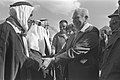 Flickr - Government Press Office (GPO) - Pres. Katzir Shaking hands with one of the Bedouin sheikhs.jpg
