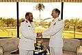 Flickr - Official U.S. Navy Imagery - Adm. Jonathan Greenert shakes hands with Royal Saudi Naval Forces Chief of Naval Operations Vice Adm. Dakheel Allah Al-Wagdani..jpg