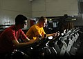 Flickr - Official U.S. Navy Imagery - Sailors work out to prepare for upcoming physical fitness assessment..jpg