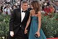 Flickr - nicogenin - 66ème Festival de Venise (Mostra) George Clooney et Elisabetta Canalis (2).jpg
