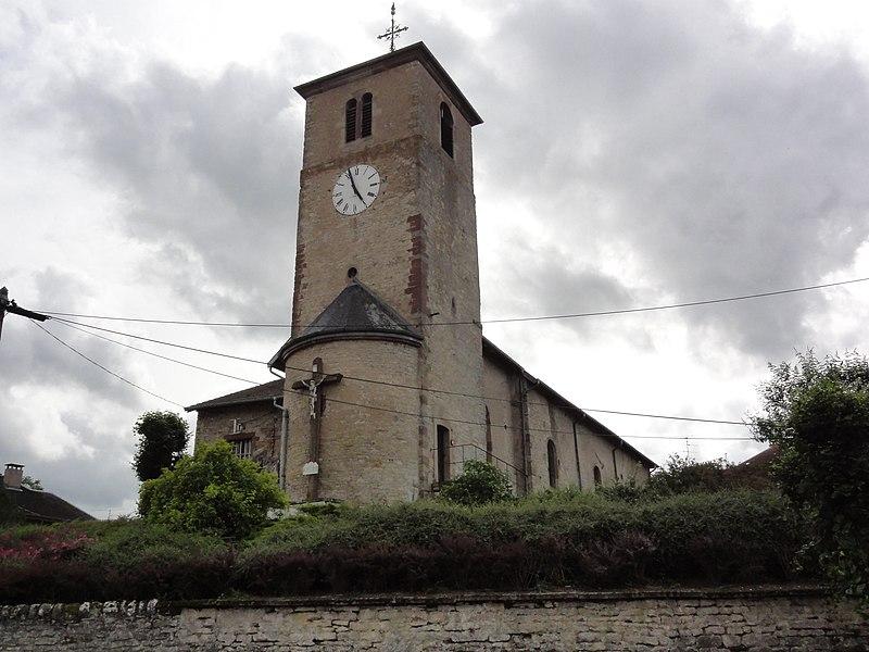 Flin (M-et-M) église