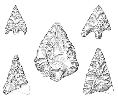 Flint Arrow-heads - A Book of Dartmoor.jpg