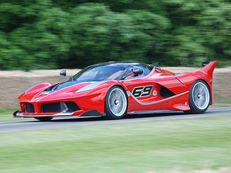 Marco Fainello - A Ferrari FXX K, for which Fainello was head of development