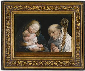 Virgin and Child with Saint Bernard of Clairvaux