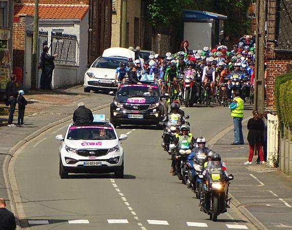 Fontaine-au-Pire - Quatre jours de Dunkerque, étape 2, 7 mai 2015, départ (D1).JPG