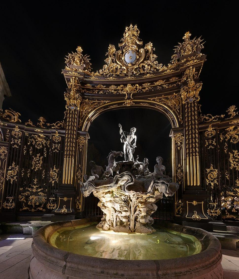 Fontaine - Place Stanislas - Nancy - P1300648-P1300665 fused