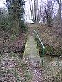 Footbridge Over Lark Rise - geograph.org.uk - 1105521.jpg