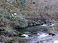 Footbridge across the East Lyn River - geograph.org.uk - 687187.jpg