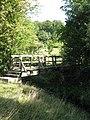 Footbridge over Burtis Beck. - geograph.org.uk - 552437.jpg